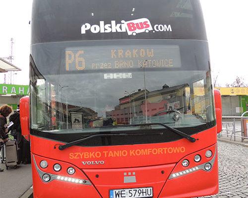 Viajando de Praga a Cracóvia